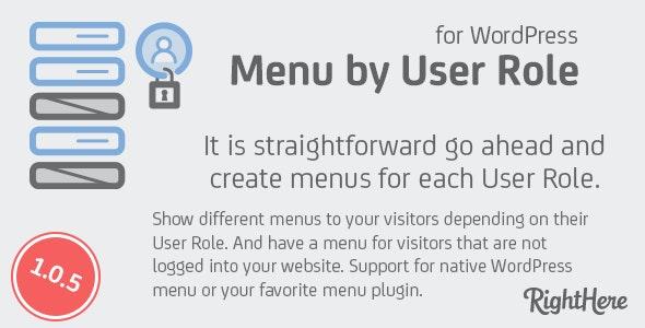Menu by User Role for WordPress 不同用户组不同菜单插件-创客云