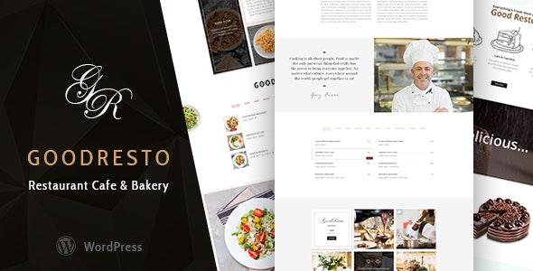 GoodResto - 餐厅酒店网站WordPress模板-创客云