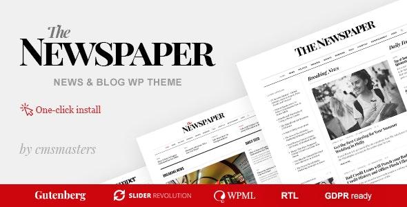 The Newspaper - 新闻杂志编辑WordPress主题-创客云