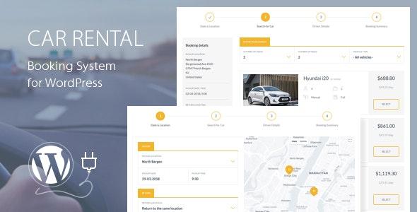 Car Rental Booking System 租车预订系统-创客云