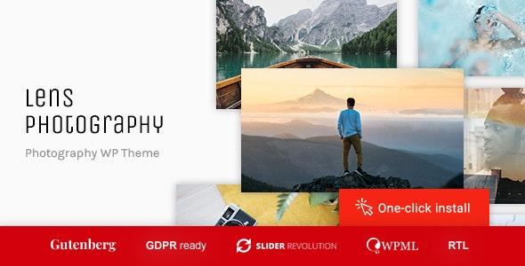 Lens Photography - 摄影艺术展示WordPress主题-创客云