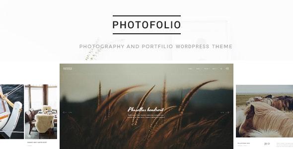 Photofolio - 摄影作品展示WordPress主题-创客云