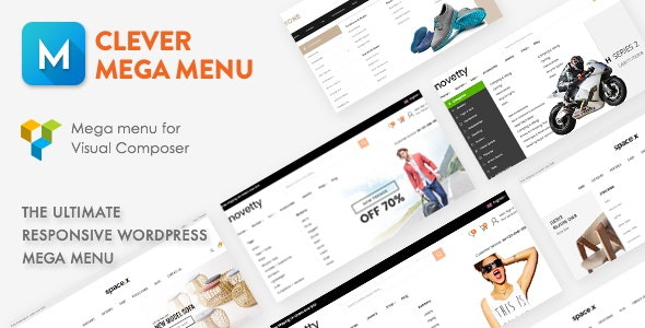 Clever Mega Menu for WPBakery Page Builder 可视化巨型菜单插件插件-创客云