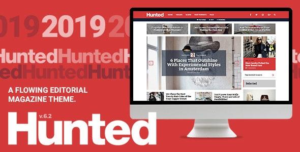 Hunted - 流行杂志博客WordPress主题-创客云