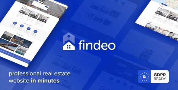 Findeo - 房地产WordPress主题-创客云