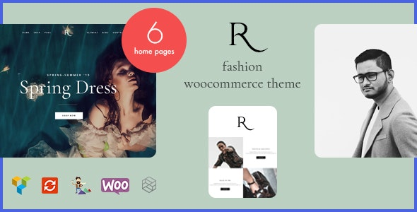 Rion - 时尚服饰商店模板WordPress主题-创客云