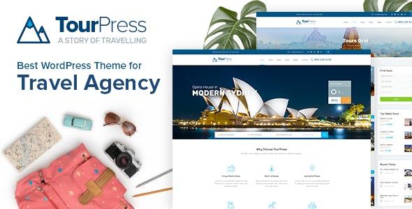 TourPress - 旅行预订WordPress主题-创客云