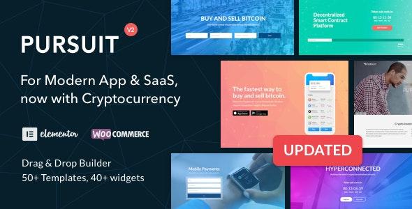 Pursuit - 应用程序软件WordPress主题-创客云