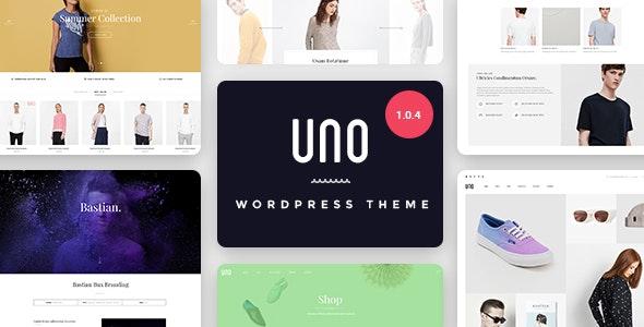 UNO – 多用途响应式WordPress商店主题 – v1.0.5
