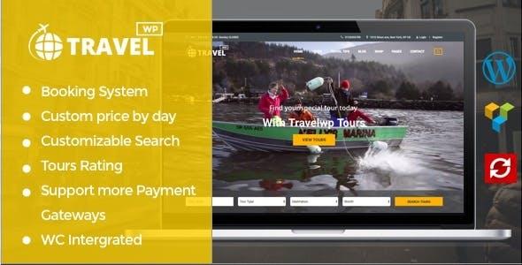 Travel WP - 旅游旅行网站模板WordPress主题-创客云
