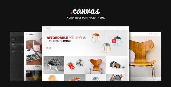 Canvas - 室内装饰家具展示WordPress主题-创客云