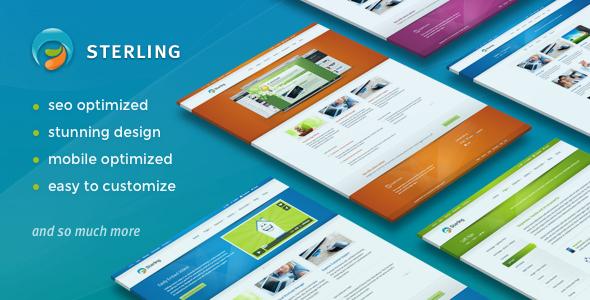 Sterling - 响应式企业公司WordPress主题-创客云