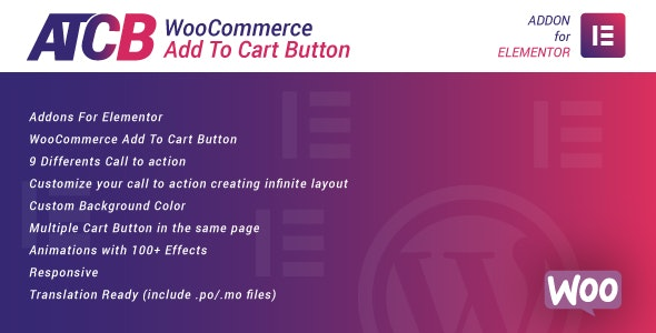 WooCommerce Add To Cart Button for Elementor 加入购物车按钮插件-创客云