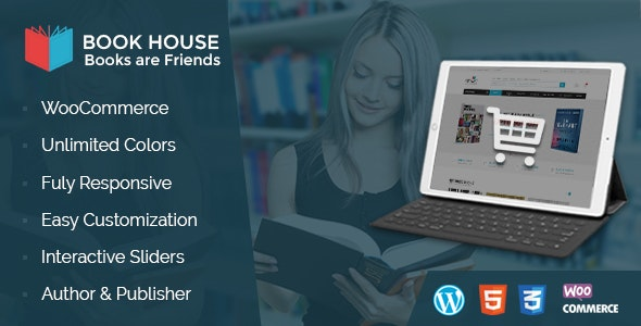 Book House WordPress - 书店咖啡WordPress主题-创客云