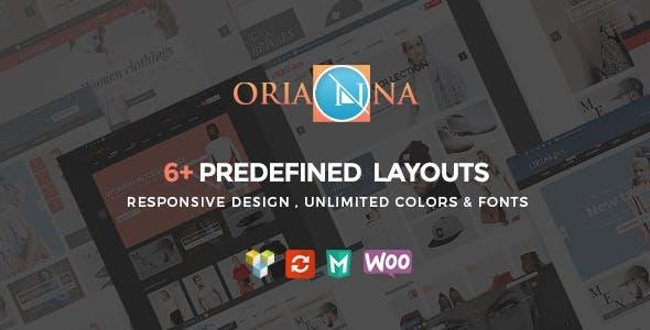 Orianna - 响响应式WooCommerce时尚服饰网站模板-创客云