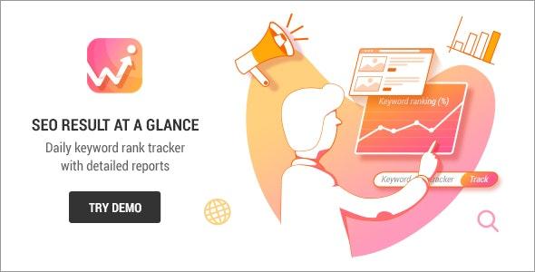 Keyword SEO Rank Tracker - SEO关键词跟踪WordPress插件-创客云