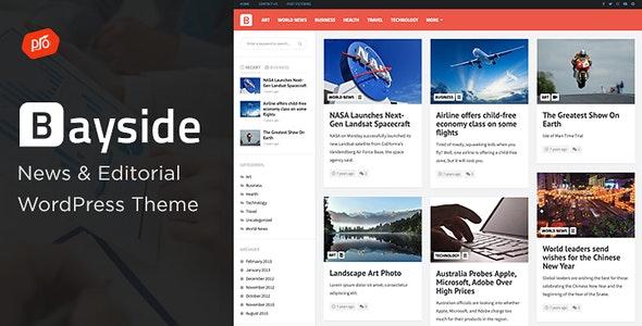 Bayside - 响应式新闻博客WordPress主题-创客云