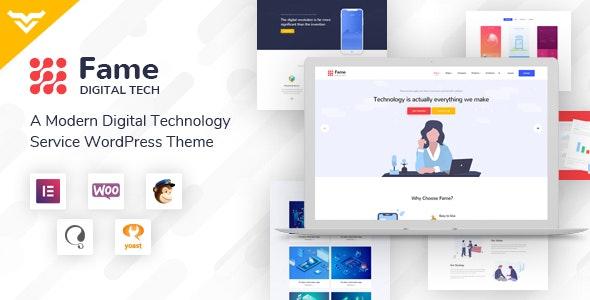 Fame -  数字技术网站WordPress主题-创客云