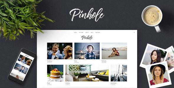 Pinhole -  摄影师相册WordPress主题-创客云