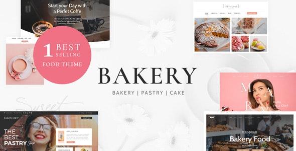 Cake Bakery - 蛋糕甜品面包店WordPress主题-创客云