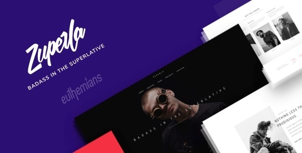 Zuperla - 创意企业产品展示WordPress主题-创客云