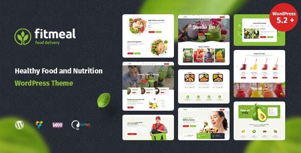 Fitmeal - 健康绿色有机食品WordPress主题-创客云
