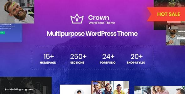 Crown - 多用途WordPress主题-创客云