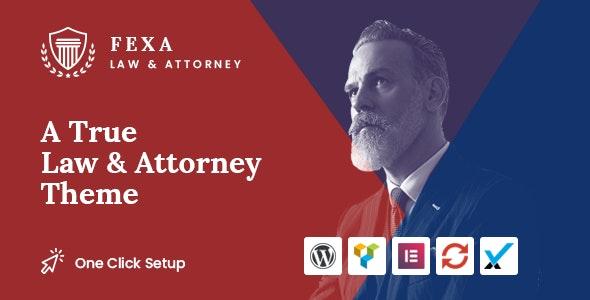 Fexa - 律师法律WordPress主题-创客云