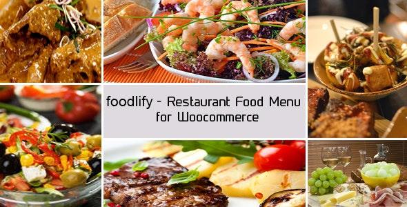 Foodlify - Woocommerce 餐厅食物菜单插件-创客云