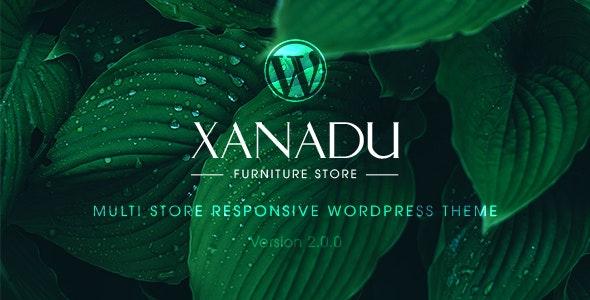 Xanadu - 响应式多商店WordPress主题-创客云