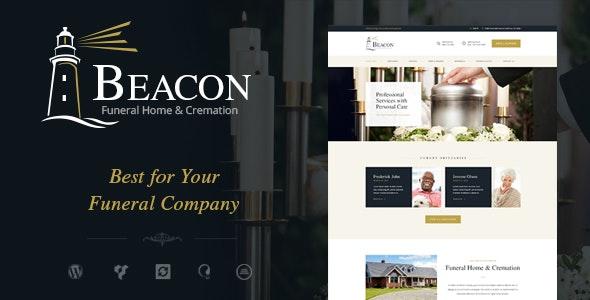 Beacon - 墓地殡仪馆WordPress主题-创客云