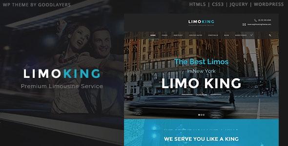 Limo King - 豪华轿车/运输/租车WordPress模板-创客云