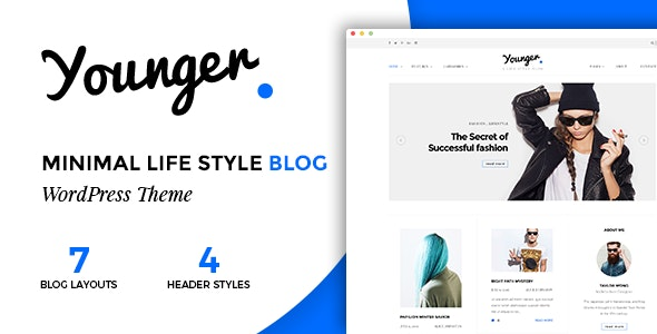 Younger Blogger - 专业个人博客WordPress主题-创客云