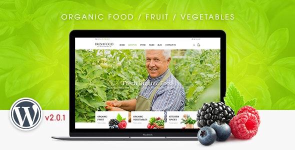 FreshFood - 多用户商店WordPress主题-创客云