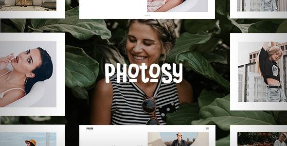 Photosy - 摄影艺术作品展示WordPress模板-创客云