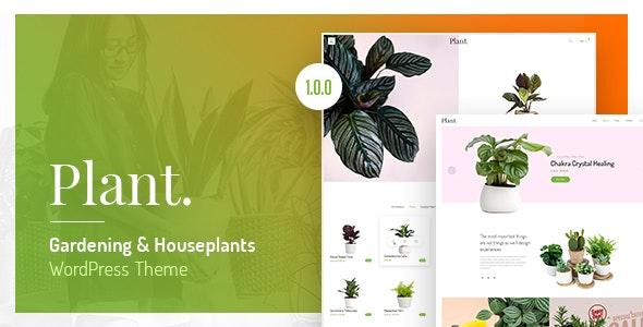 Plant - 园艺室内植物WordPress主题-创客云