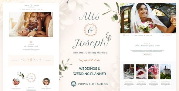 Alis - 婚礼策划师WordPress主题-创客云