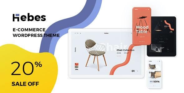 Hebes - 多用途电商WooCommerce商店模板-创客云