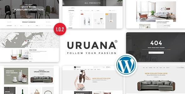 Uruana - 多商家电商WordPress主题-创客云