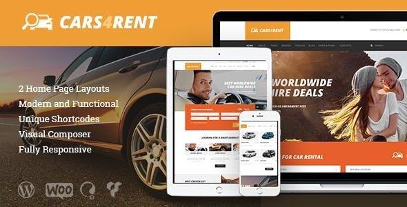 Cars4Rent - 汽车租赁出租车服务主题-创客云