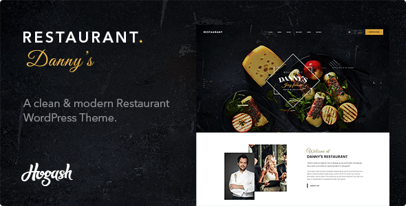 Restaurant Dannys - 餐厅美食WordPress模板-创客云