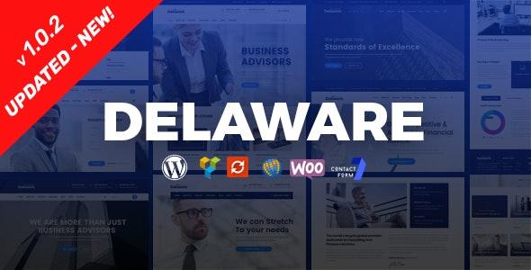 Delaware - 企业财务咨询WordPress主题-创客云