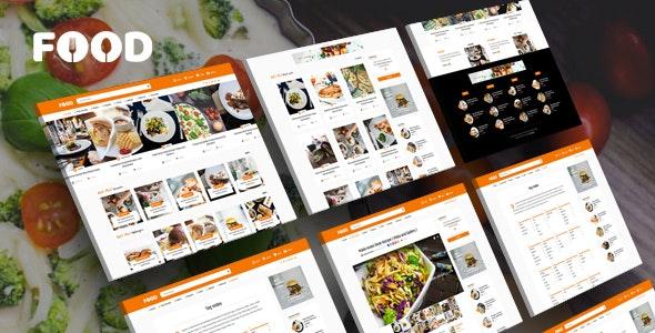 Tasty Food - 美食博客网站模板WordPress主题-创客云