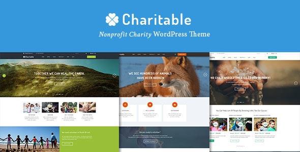 Charitable - 慈善非营利组织WordPress主题-创客云