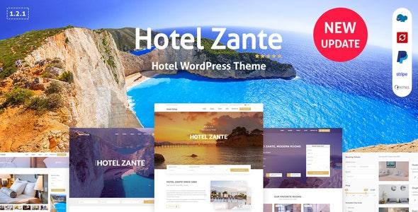 Zante - 酒店预订WordPress主题-创客云