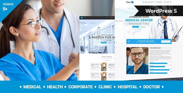 MedPlus - 医疗与健康WordPress主题-创客云