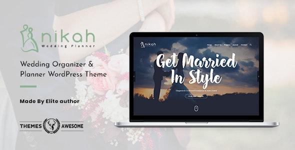 Nikah - 婚礼策划WordPress主题-创客云