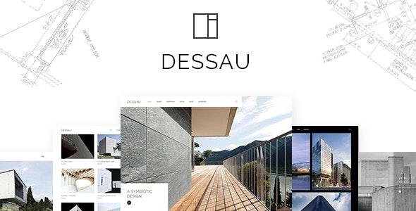 Dessau - 建筑师室内设计装修WordPress主题-创客云