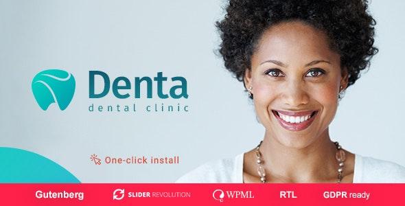 Denta - 牙科诊所网站WordPress主题-创客云