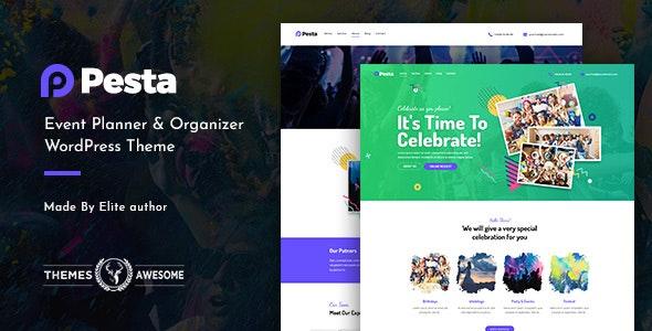 Pesta - 活动策划组织WordPress主题-创客云